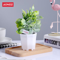 AONEZ Artificial Flower Bunga hias dengan pot bunga Sun flower