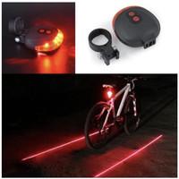 LIGHT LAMP BACK LASER TAIL STYLE Lampu Sepeda Belakang lps004mt
