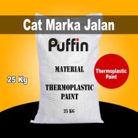 Cat Marka Jalan Puffin Thermoplastic AASTHO 98 White 25 kg
