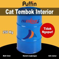 Cat Tembok Interior Nucolour 250 kg. Kemasan Drum. No ngapur!