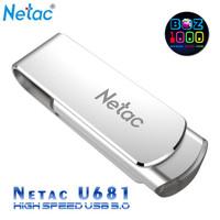 High Speed Flashdisk USB 3.0 Netac U681-16GB (Free OTG Converter)