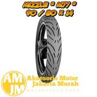 Ban Tubeless MIZZLE Ban Motor Velg 14 M77 Ukuran 90 80 - 14