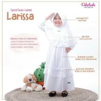 TerLaris Gamis Putih Sekolah Manasik Anak Thalita Premium Set Jilbab