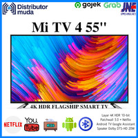 Xiaomi Mi TV 4 55 Inch Smart Android 4K UHD TV 55 - Garansi Resmi