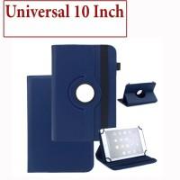 Advan Tab Sketsa 10 Inch Flip Leather Case Rotary Casing Cover Kulit