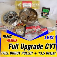 PAKET UPGRADE CVT NMAX LEXI AEROX Paket Roller CVT Yamaha Full Spek - LEXI