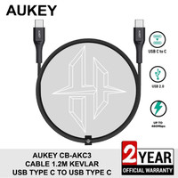 AUKEY CB-AKC3 Cable USB Type c To Type c Power Delivery PD Kabel Data