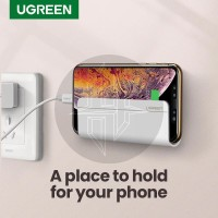 UGREEN 30394 Wall Mount Phone Holder Charging Bracket Dinding Charger