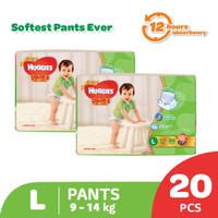 Huggies Gold Pants eco pack L 20 2 Pack