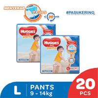Huggies Dry Pants eco pack L 20 2 Pack