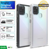 Ringke Fusion Case Samsung Galaxy A21s 2020 Soft Casing Softcase Cover - Clear