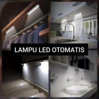 Lampu LED Sensor Otomatis Sensor Gerak Cahaya Lemari