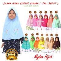 mylaa hijab JILBAB BORDIR anak sekolah seperti rabani / rabbani delima