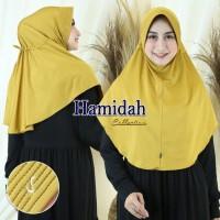 Hijab Instan Hamidah tali serut belakang