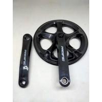 Pacific Crank single chainring 52T sepeda lipat