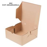 Paper Lunch Box Dus Makanan Kotak Makan B07K3 Non Laminasi 22X22X10