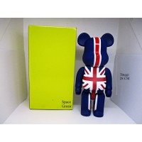 Pajangan Figure Mainan BearBrick BE@RBRICK British Style 400%