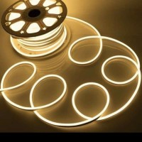 lampu neon flex led selang flexible sign strip fleksibel WARM WHITE - Warn White