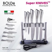 BOLDe Super Knife Set Titanium
