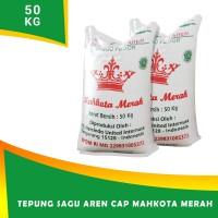 Tepung Sagu cap MAHKOTA MERAH 50 kg
