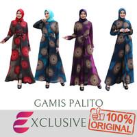 New Gamis Palito Katun & Nishiji Katun / Dress Muslim / Gamis - FOTO, M