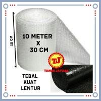 Bubblewrap 10 Meter x 30 cm Bubble Wrap Plastik Bubble Tebal Premium