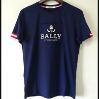 Kaos Bally Switzerland logo Premium branded (not Gucci LV off white )