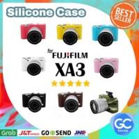 FUJIFILM SILICONE CASE FOR X-A3 MIRRORLESS CAMERA XA3 TAS SARUNG