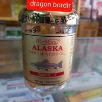 K-Max Alaska Deep Sea Fish Oil (Tutup Emas)