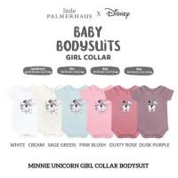 Little Palmerhaus Bodysuit Collar Baby Girl Baju Tidur Pink