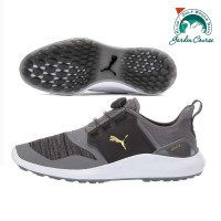 Puma Ignite Quiet Shade Gold Boa Golf Shoes
