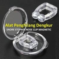 Snore Stopper Penghilang Dengkur Anti Dengkuran Magnetic Nose Clip