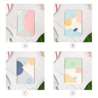 Scandinavia Spiral Ruled Notebook A5 / Buku Tulis A5 / Buku Catatan A5