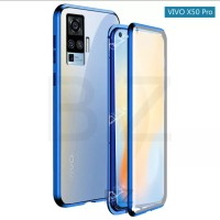 Magnetic Magnet Double Glass Front back Case Cover Vivo X50 Pro X50Pro