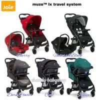 JOIE MEET MUZE LX TRAVEL SYSTEM BABY STROLLER/ KERETA DORONG BAYI