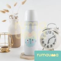 RUMAUMA Tumbler Termos Botol Air Anak 350ml Food Grade Glass Water JOY