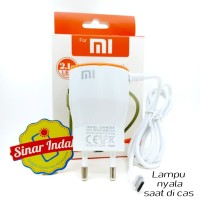 Charger 2.1A Lampu LED Xiomi