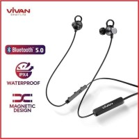 Vivan Headset Earphone Wireless Bluetooth Sports Stereo S15 Waterproof