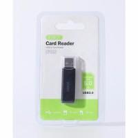 Card Reader Cardreader ROBOT CR102 USB 3.0 TF SD with 2 Slot Hub Black