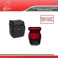 Tas Kamera Maxx Mx-15 for Kamera Mirrorless- Handycam-DLL