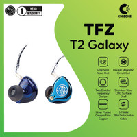 TFZ T2 Galaxy HiFi In Ear Monitor Earphone With Detachable Cable