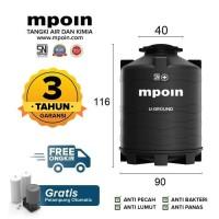Tangki Air / Tandon / Toren Pendam MPOIN PLUS 600 U-Ground