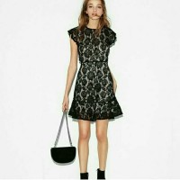 Dress Express lace Strap Black & Beige DW39