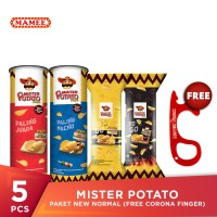 Mister Potato Paket New Normal (Free Corona Finger)