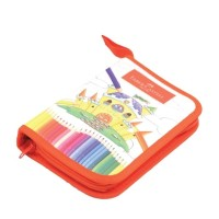 Colour Pencils Bag Set 24 Faber Castell Pensil Warna Color Classic