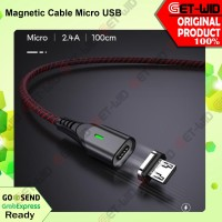 Kabel Data Magnet Micro USB Android Fast Charging MGM100
