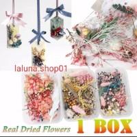 Dried Flower / Bunga Kering Alami untuk Lilin Aromaterapi Epoxy Resin