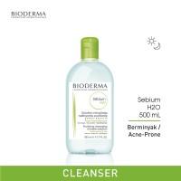 Bioderma Sebium H2O Makeup Removing Micellar Water for Oily Skin 500ml