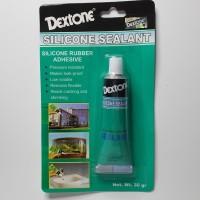 Lem Silikon Silicone Sealant Bening Clear Mini 30 gr DEXTONE