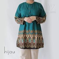 SUZ Atasan Blouse Wanita Long Tunik jumbo motif 332